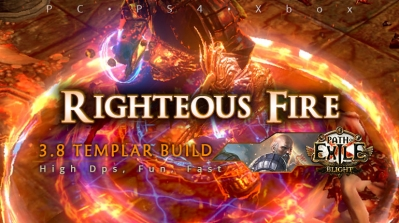[Templar] PoE 3.8 Righteous Fire Guardian Funny Build